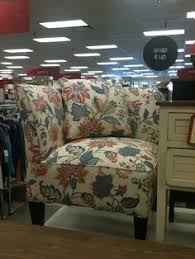 coral chair with blue accents tj maxx dwell pinterest