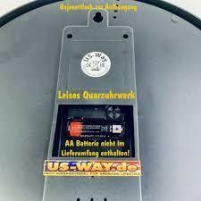kolekcje n 0245 wanduhr mustang deko neonuhr esszimmer
