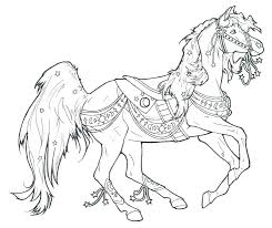 Spirit And Rain Horse Coloring Pages The To Print