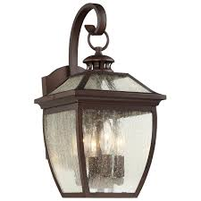 minka lavery 72522 246 sunnybrook 3 light outdoor wall sconce in