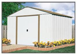 Arrow Woodridge Steel Storage Sheds by Arrow Sr1010 Shed 68220