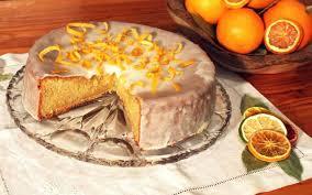 orangen marzipan kuchen