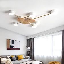 nordic stil wohnzimmer led deckenleuchte schlafzimmer kronleuchter moderne minimalistischen beleuchtung le neue decke le