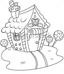 Free To Download Gingerbread House Coloring Pages 66 About Remodel Online With Printable