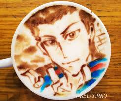 Latte Art Takeshi Momoshiro The Prince Of Tennis