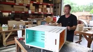 johnny kentucky makes a pinwheel crate coffee table youtube