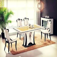 Italian Dining Sets Elegant Table Furniture Decoration In