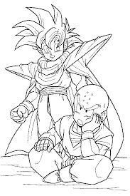 Dragon Ball Z 2 Coloring Pages 7 Com