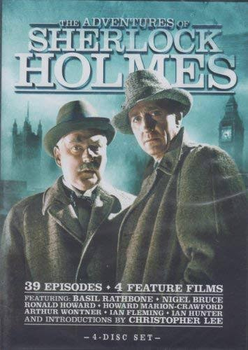 The Adventures of Sherlock Holmes: Complete Series - DVD