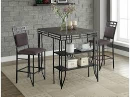Crown Mark Matrix 3 PK Counter Height Table Set 1716SET