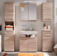 details zu bad badezimmer möbel set eiche san remo möbelset komplett 5 teilig 180 cm malea