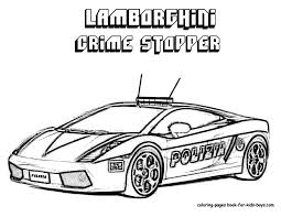 Free Printable Police Cars Coloring Pages 80 On Book With