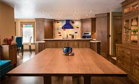 White Oak Craftsman Style Dining Table Designed And Built By Silent Rivers For The