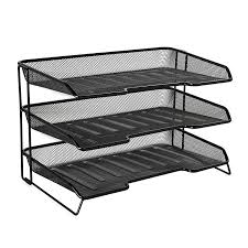 Desk Drawer Organizer Amazon by Amazon Com Rolodex Mesh Collection 3 Tiered Desk Tray Black