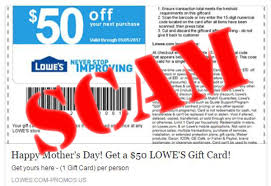 That $50 Lowe's Mother's Day Coupon On Facebook Is A Scam ... Ihop Printable Couponsihop Menu Codes Coupon Lowes Food The Best Restaurant In Raleigh Nc 10 Off 50 Entire Purchase Printable Coupon Marcos Pizza Code February 2018 Pampers Mobile Home Improvement Off Promocode Iant Delivery Best Us Competitors Revenue Coupons And Promo Code 40 Discount On All Products Are These That People Saying Fake Free Shipping 2 Days Only Online Ozbargain Free 10offuponcodes Mothers Day Is A Scam Company Says How To Use Codes For Lowescom