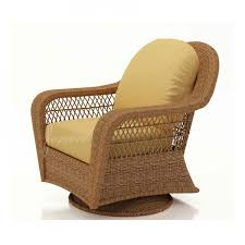 forever patio wicker high back swivel glider chair
