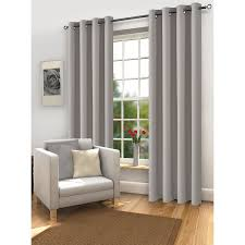 Light Grey Curtains Ikea by The Mali Thermal Blackout Eyelet Curtain Sized 46x72 Living Room