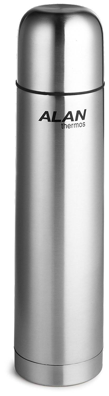 Stainless Steel Beverage Bottle, 34 Ounce