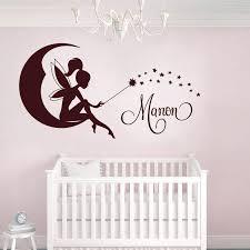 sticker chambre bébé fille stickers fée 1 stickers chambre bébé sticker personnalisé et