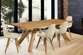 home affaire essgruppe lasi set 7 tlg bestehend aus 6 stühlen und einem esstisch esstischbreite 200 cm kaufen otto