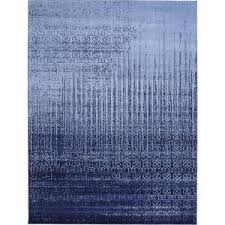 unique loom vintage del mar rain blue 7 ft x 10 ft rug 3114716