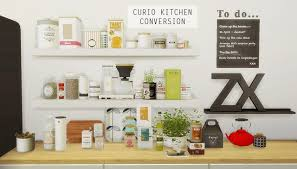 Mio Sims Curio Kitchen Conversion