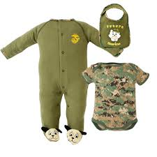 officially licensed marine baby clothes