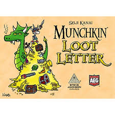 Munchkin Loot Letter Card Game Im Bringing Skills Here At The