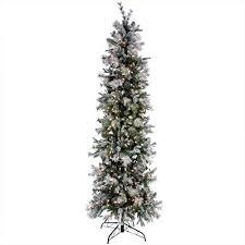 75 Slim Flocked Christmas Tree by 11 Best Slim Christmas Tree Images On Pinterest Christmas Tree