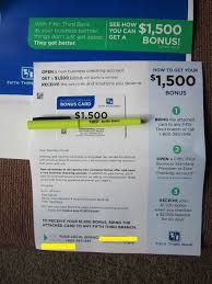 Fifth Third Bank $1,500 Business Checking Bonus [FL, GA, IL ... Bank Account Bonuses Promotions October 2019 Chase 500 Coupon For Checking Savings Business Accounts Ink Pferred Referabusiness Chasecom Success Big With Airbnb Experiences Deals We Like Upgrade To Private Client Get 1250 Bonus Targeted Amazoncom 300 Checking200 Thomas Land Magical Christmas Promotional Code Bass Pro How Open A Gobankingrates New Saving Account Coupon E Collegetotalpmiersapphire Capital 200 And Personalbusiness