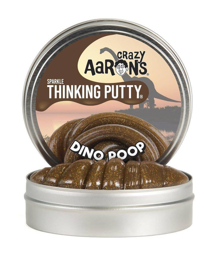 Crazy Aaron's Dino Poop Thinking Putty