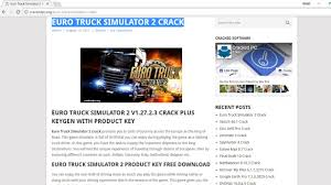 Euro Truck Simulator 1.3 Crack Download Free