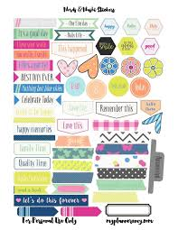 Scrapbook Designs Printable Stickers Larissanaestrada