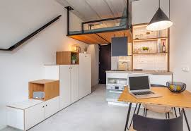 100 Housing Interior Designs Tiny 18 Sqm Apartment Offers Student With Space