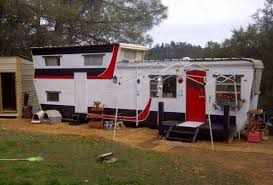 1954 Pacemaker Bi Level Mobile Home Remodel