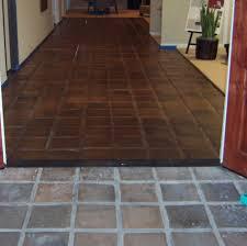 staining saltillo tile floor tile flooring ideas