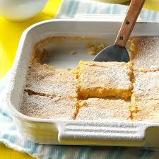 top 10 dessert recipes lemon bars recipe taste of home