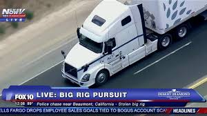 FULL: Epic Police Chase - STOLEN BIG RIG Through Southern California ...