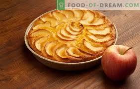 ein einfacher und schneller kuchen mit äpfeln orangen und