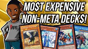Most Expensive Yugioh Deck by Yu Gi Oh Top 5 Most Expensive Bad Decks Max Rarity Youtube