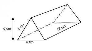 Calculate The Surface Area Of Following Triangular Prism