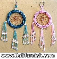 Beads Keychains Beaded Keyrings And Keyholders From Bali Indonesia