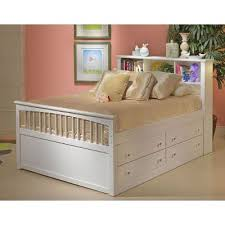 White Classic Captain s Twin Storage Bed Bayfront