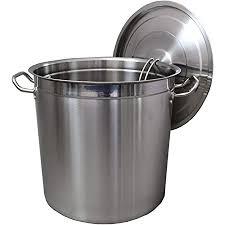tische gastronomie kochtopf suppentopf 20 bis 100 liter edelstahl kochtöpfe ideal geeignet für alle herdarten große küchen gastro topfset
