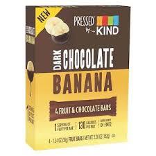 Image Is Loading KIND Nutrition Bars Dark Chocolate Banana 5 36oz