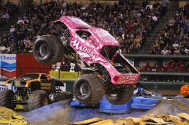 Monster Jam Madusa Truck Pink, Monster Truck Jam Toys Videos ...