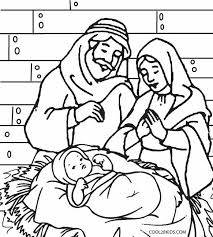 Fresh Nativity Scene Coloring Pages 68 With Additional Books