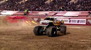 Monster Jam - Team Hot Wheels Firestorm Freestyle From Las Vegas ...