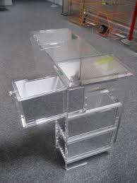 Acrylic Chair For Vanity by Interior Clear Acrylic Vanity Table Small Acrylic Desk Office