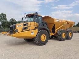 2018 Bell B45E Articulated Dump Truck For Sale, 267 Hours | Morris ...